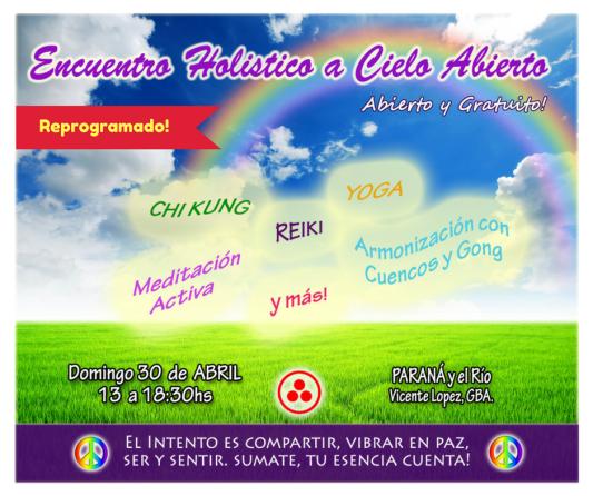 Encuentro Holistico os Aires gratis